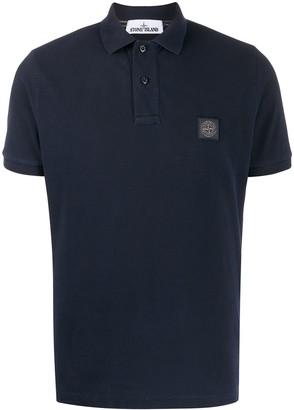 Stone Island Chest Logo Polo Shirt