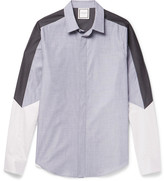 Wooyoungmi - Panelled Cotton Shirt