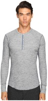 Todd Snyder Thermal Henley Men's T Shirt