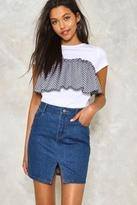 Nasty Gal nastygal Check Me Out Layered Tee