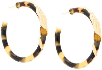 Gas Bijoux Cobra hoop earrings