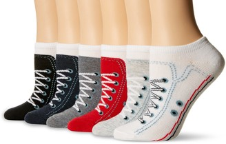 K. Bell Socks Women's 6 Pack Novelty No Show