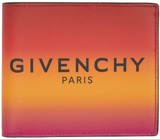 Givenchy Orange Gradient Wallet