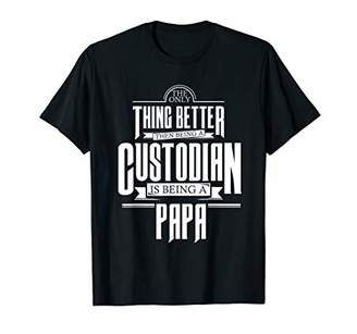Equipment Mens Cool Custodian shirt for papa who works with clean T-Shirt