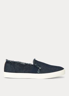 Ralph Lauren Jinny Denim Slip-On Sneaker