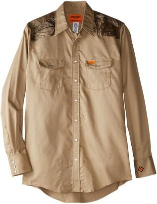 Wrangler Riggs Workwear Men's Big & Tall FR Lightweight Work Shirt