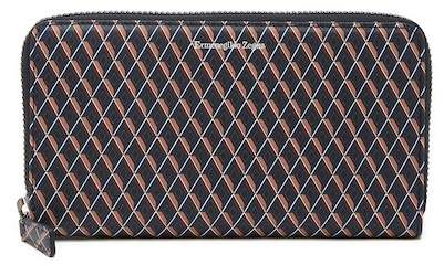 Ermenegildo Zegna Zip Around Printed Leather Wallet
