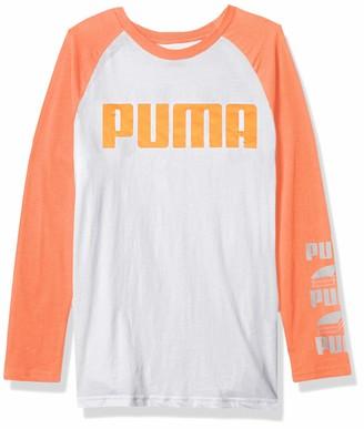 Graphic Longsleeve T Shirt Puma Boys' Longsleeve T-Shirt