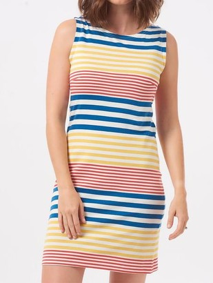 Sugarhill Boutique Hanover Beach Stripe Dress Multi - 12