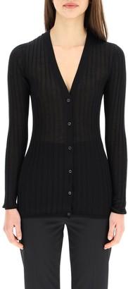 Prada V-Neck Buttoned Cardigan