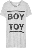 Zoe Karssen Boy Toy printed jersey T-shirt