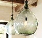 Pottery Barn Clift Oversized Glass Pendant