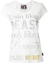 Plein Sport - beast T-shirt - women - Cotton - S