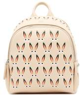 MCM Star Bunny Mini Leather Backpack
