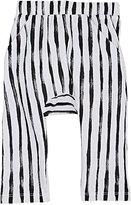 Joah Love Striped Cotton Drop-Rise Pants