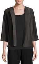 Eileen Fisher Kurume Dash Organic Cotton Jacket, Plus Size
