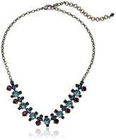 "Sorrelli Blue Brocade"" Constellation Line Necklace, 17"" + 3.5"" Extender"