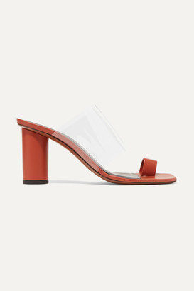 Neous Chost Leather And Pvc Sandals - Tan
