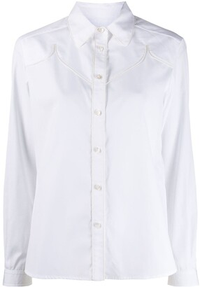 Golden Goose Texas long-sleeved buttoned shirt