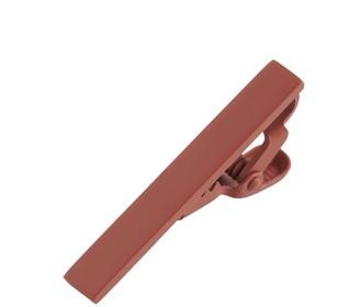 Matte Color Rust Tie Bar