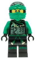 Lego Ninjago Sky Pirates Lloyd Kids Moveable Minifigure Alarm Clock - Green