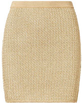 Ralph Lauren Metallic Miniskirt