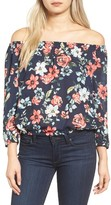 Cupcakes And Cashmere Women's Burke Off The Shoulder Blouse