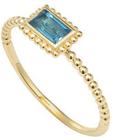 Lagos Covet Blue Topaz Stackable Ring, Size 7