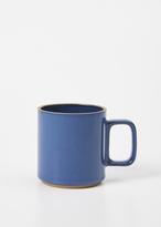 Hasami blue medium mug