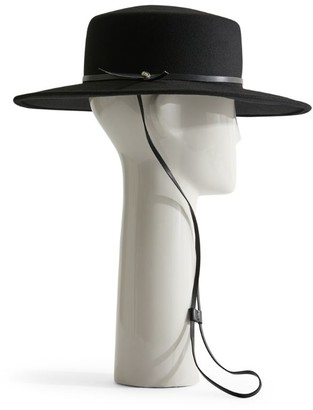 Max Mara Wool Wide-Brimmed Hat