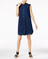 Eileen Fisher Denim Shirtdress