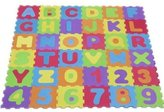 ALPHABET AND NUMBERS SOFT FOAM PLAY MAT JIGSAW CHILDREN KIDS LETTER PUZZLE NEW by JDEALS
