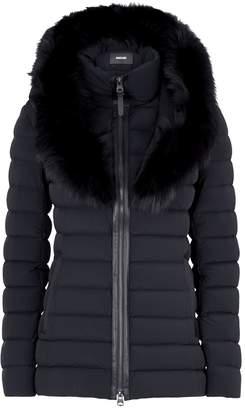 Mackage Lightweight Fur-Trim Down Jacket
