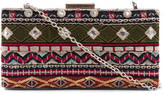 Shiraleah Embroidered Hardcase Clutch