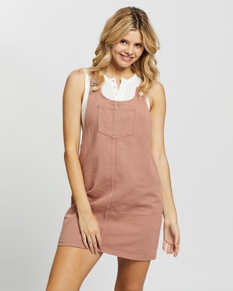 Glamorous Overall Mini Dress