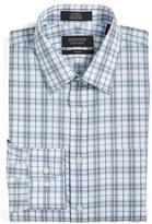Nordstrom Men's Big & Tall Trim Fit Non-Iron Check Dress Shirt