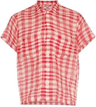 Bode Spotlight gingham shirt