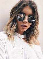 MinkPink Silver Heritage Sunglasses