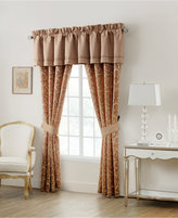 """Waterford Home Margot Persimmon 18"""" x 55"""" Tailored Window Valance"""