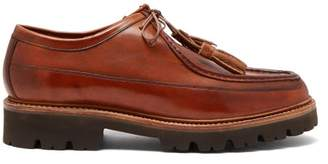 Grenson Bennett Leather Chukka Shoes - Mens - Brown