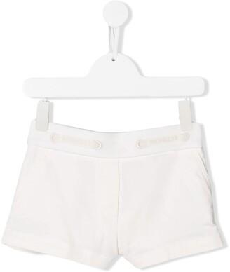 Moncler Enfant Drawstring Logo Shorts