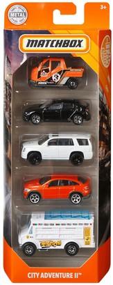 Mattel Matchbox City Adventure 5-Pack Vahicles