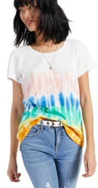 Style&Co. Style & Co Tie-Dye Printed T-Shirt, Created for Macy's