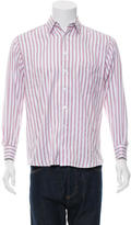 Paul Smith Striped Button-Up Shirt