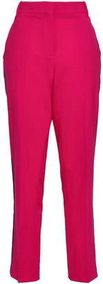 Rag & Bone Striped Wool-blend Crepe Straight-leg Pants