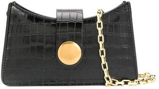 Elleme Crocodile-Effect Mini Baguette Bag