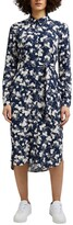 Thumbnail for your product : Esprit Printed Shirt Dress with Long Sleeves