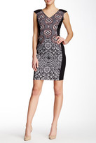 Maggy London Sleeveless V-Neck Dress