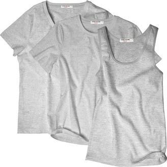 Hanes Women's + Elizabeth and James 3-pack Tees