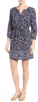Caslon Print Blouson Dress